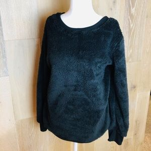 Black Leo Rosi fluffy sweater!!!
